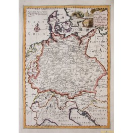 Map Of Holland And Germany.Antique Old Map Of Germany Denmark Map And Maps Mapandmaps Com