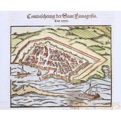 Famagusta Cyprus Statt Famagusta Münster 1628