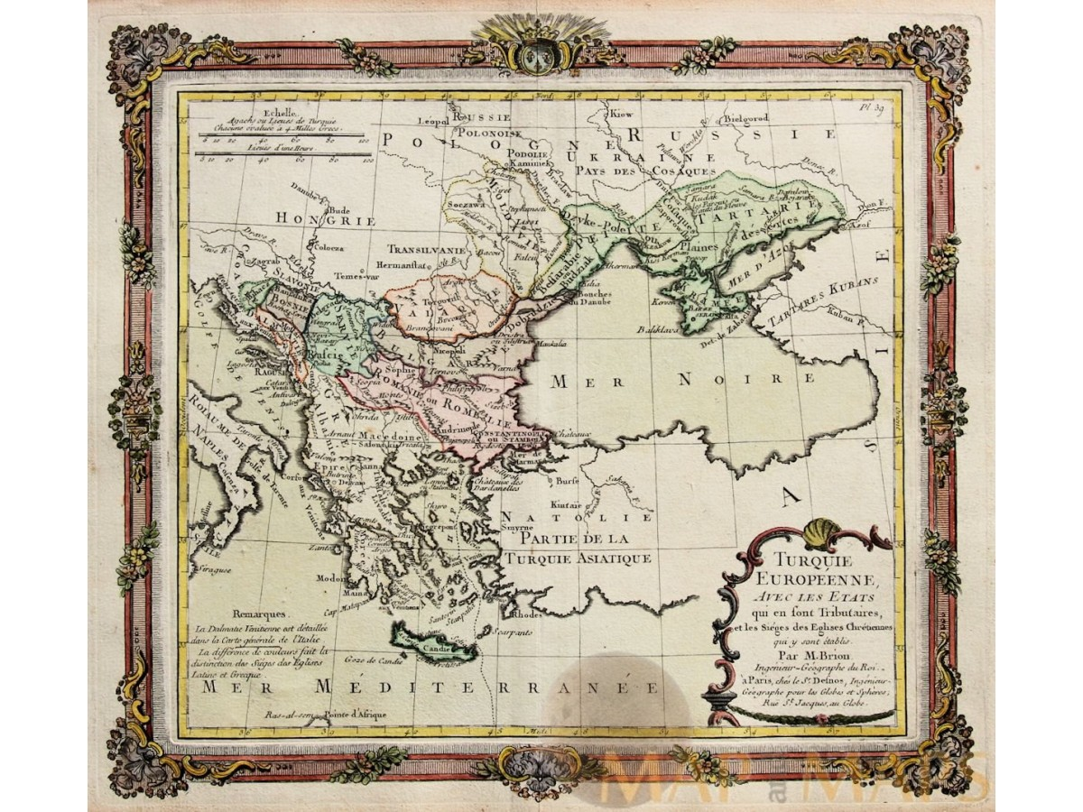 turque europeenne old map europe turkey in ottoman empire by brian desnos 1766 loading zoom