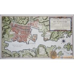 Nangasaki Kyisho Island Ville Nangasaki Japan Bellin 1752