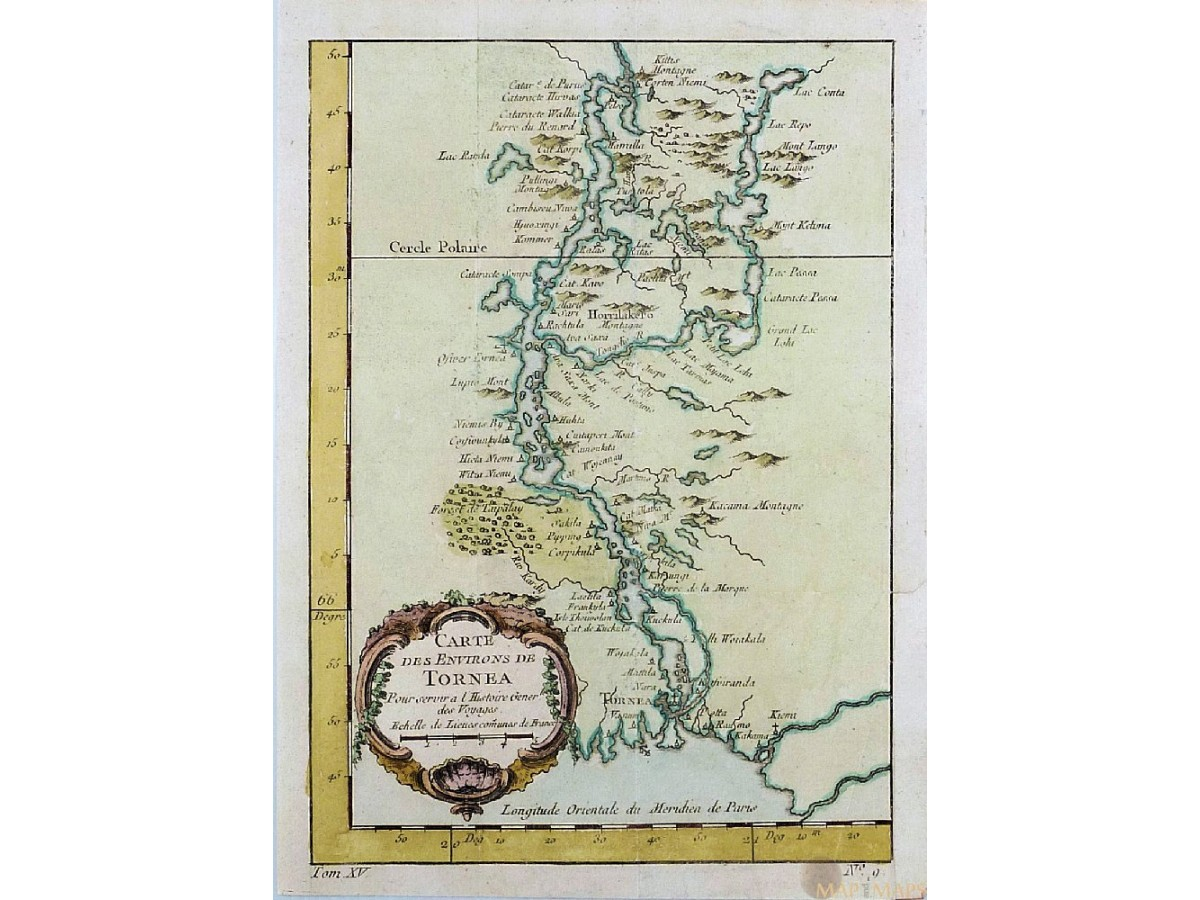 Northern Europe antique rare map and maps mapandmapscom
