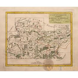 Comtes De Hainaut de Namur Old map 1748 Mapandmaps