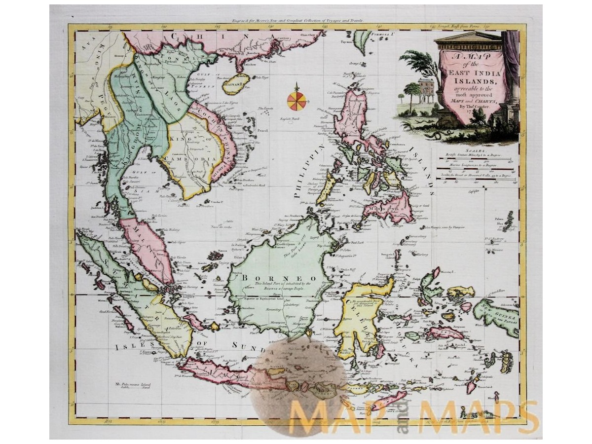 Southeast asia antique map east india islands conder mm east india islands philippines indonesia conder map 1778 loading zoom gumiabroncs Choice Image