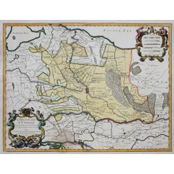 La Seigneurie D' Utrecht Antique map Utrecht Jaillot 1748