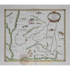 Tab VIII Asiae Scythiam - Claudius Ptolemy - Mercator 1730