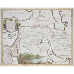 Afbeelding Oostersche Landen Holy Land by Goetzee 1748