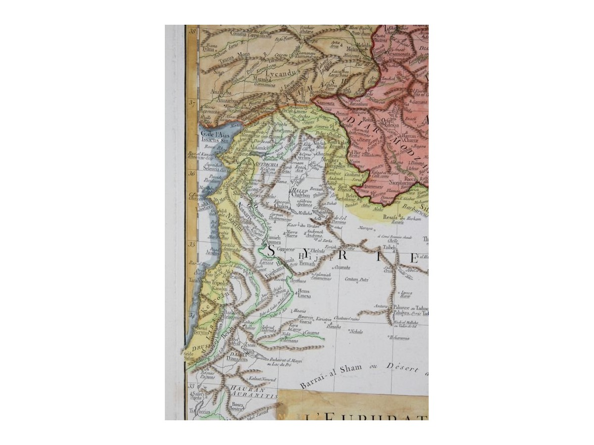 Euphrate et le tigre old map euphrates tigris anville 1780 leuphrate et le tigre euphrates tigris river anville 1780 gumiabroncs Gallery