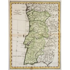 Kingdom of Portugal Royaume Portugal Le Rouge 1743