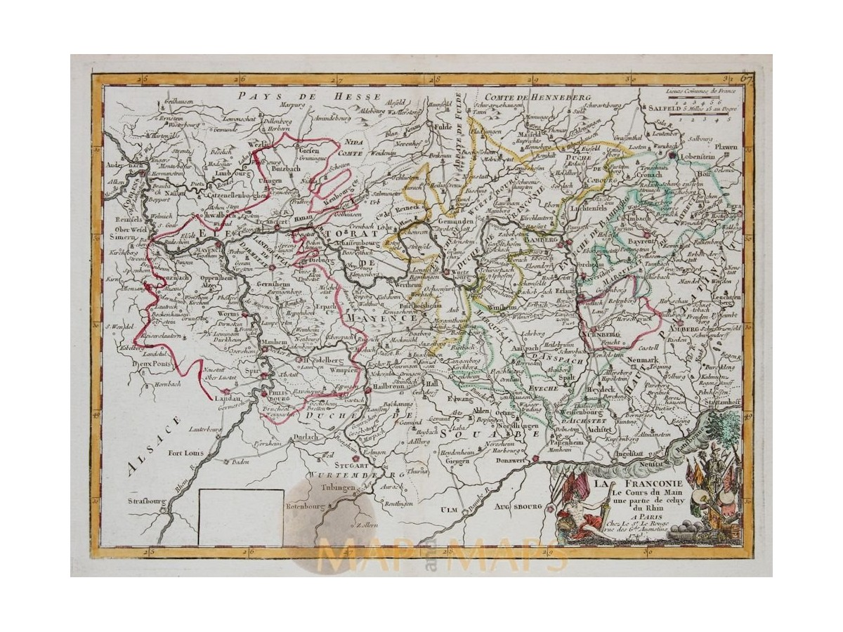 100 Historical Maps Of Germany Europe In 1740 Namurcum Antique Maps Of Cities And Fortresses