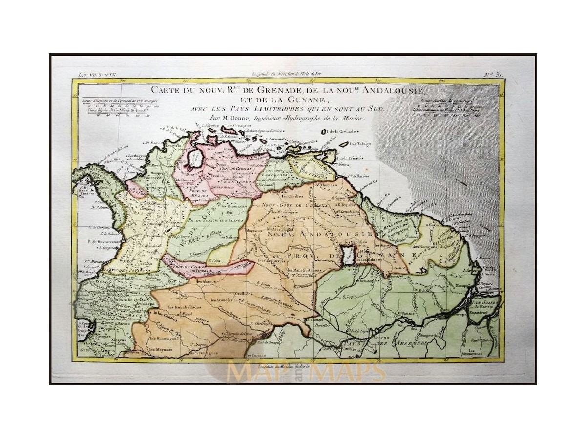 South america granada guyana old map boone mapandmaps south america suriname brazil old map carte de grenade de la noule boone 1787 loading zoom gumiabroncs Image collections