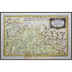 NORTH EAST HUNGARY, ANTIQUE MAP BY VON REILLY 1791
