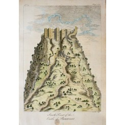Turkey South of the Castle of Rouwant by Drummond 1754