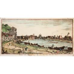 Paris Notre Dame Old print detta Notre Dame Albrizzi 1748