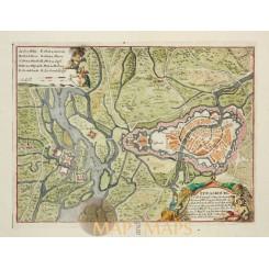 Fortification France Strasbourg Ville Fameuse de Fer 1700