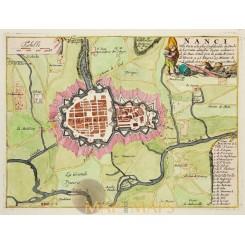 Fortification France Strasbourg Ville Fameuse de Fer 1697