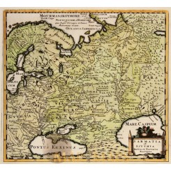Russia Sarmatia et Scythia Russia Cluver 1697