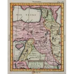 Turkey in Asia Claude Buffier 1744