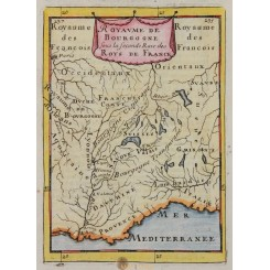 Royaume De Bourgogne Mallet map 1683