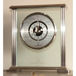 Rare Jacques Lemans Desk Mantle Clock in good working condition.