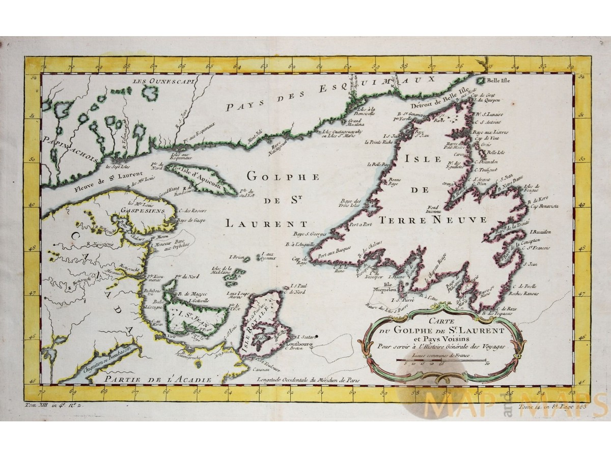 Golphe de St. Laurent Canada old map Bellin 1757 | Mapandmaps on map of lake st. clair, map of appalachian mountains, map of 45th parallel north, map of ellicott creek, map of cazenovia creek, map of saint francis river, map of new france, map of chesapeake bay, map of saint johns river, map of saint lawrence seaway, map of straits of mackinac, map of saint lawrence gulf, st. lawrence river, map of st. lawrence canada, map of saint clair river, map of lake michigan, map of gulf of california, map of st. lawrence county ny, map of lake george, map of tonawanda creek,