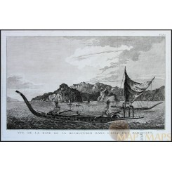 Marquesas Islands French Polynesia Cook's voyages L'Isle des Marques.Cook 1778