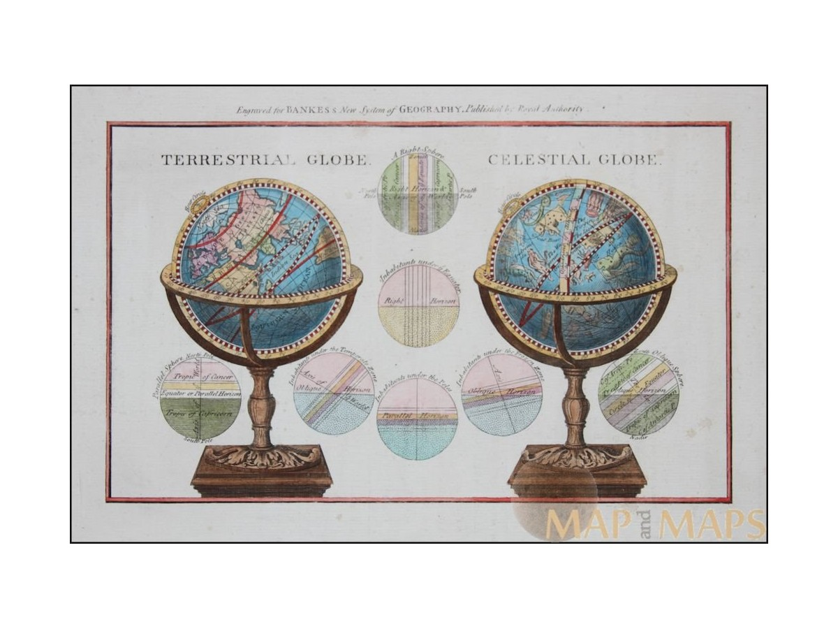 Celestial Antique maps Old Astronomy prints | Mapandmaps