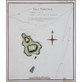 Voyages to the South Pacific Isle Norfolk by Captain Cook 1778