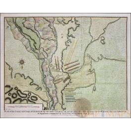 Almanar Catalonia Battle Plan Spain Rapin 1743.