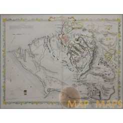 Sebastopol Crimean War Battle Plan Sevastopol Tallis 1859