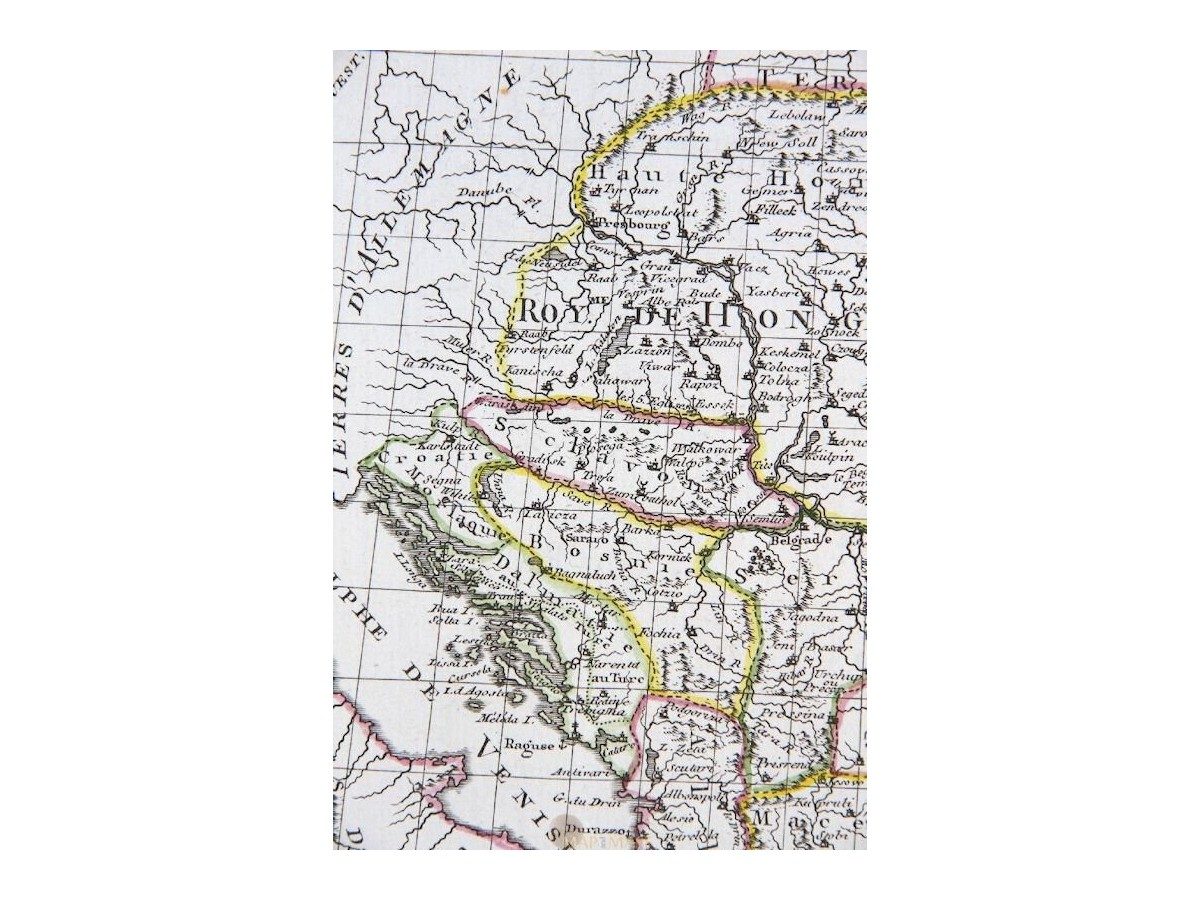 Ottoman Hungary Old Ottoman map Turquie D'Europe Philippe ...