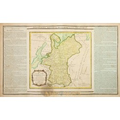 1798 Antique map of RUSSIA BALTIC SEA, BY BRION, DESNOS