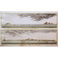Northern Mariana Islands Larans and Saypan Bellin 1748