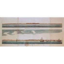Argentina Coast George Anson Cape Blanco London 1748