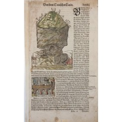 German Landt woodcuts Sebastian Munster 1550