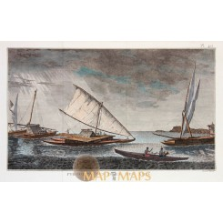 Double Canoes Tongo Island Captain Cook voyages 1778