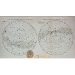 Map of the Northern (Southern) Starry Sky 1905