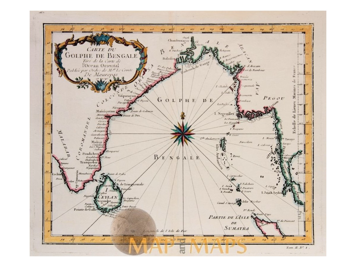Oriental map Gulf of Bengal Ceylon Siam Bellin 1740 on tunis map, sumatra map, timbuktu map, bengal map, punjab map, moluccas map, canton map, south asia, malaysia map, china map, kiev map, ghana map, burma map, japan map, gujarat map, kabul map, damascus map, morocco map, singapore map, tibet map, congo africa located on map,