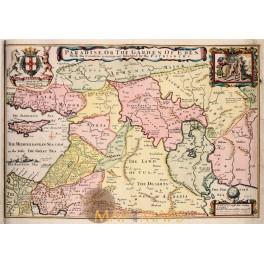 Africa, Cairo, Egypt, antique engraving Mallet 1683