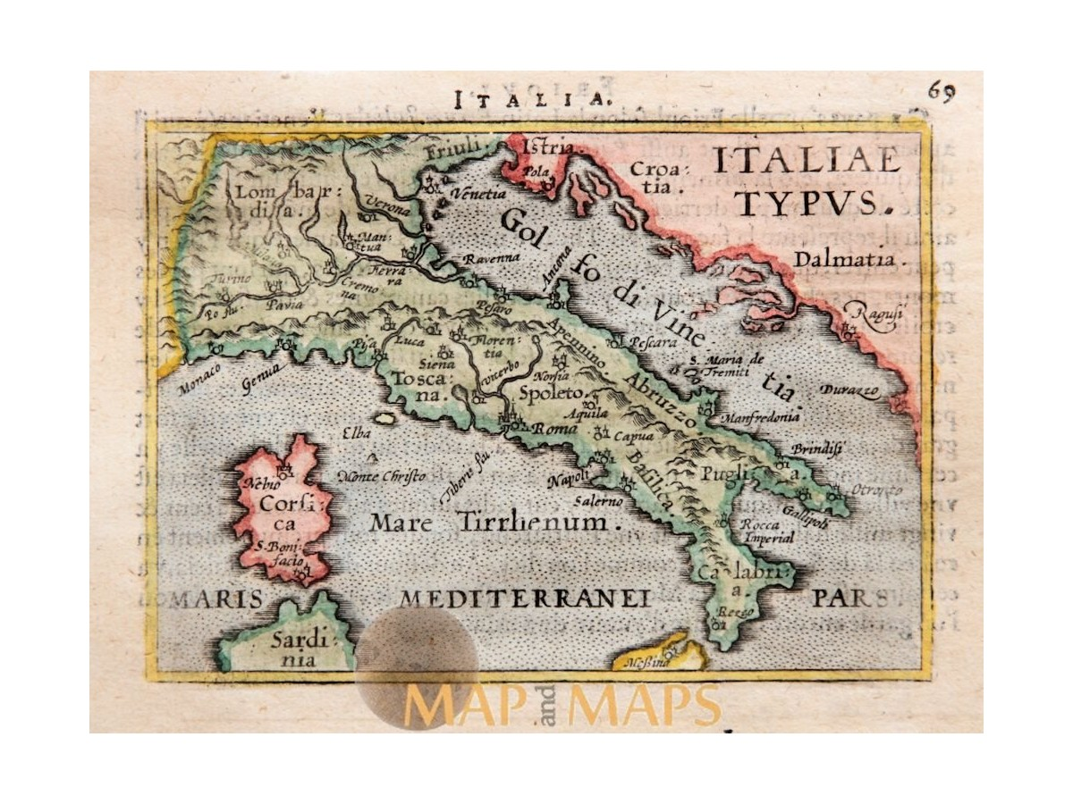 Pdf Map Of Italy.Goetzfried Antique Maps Of Italy