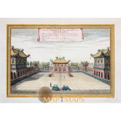 Salle Imperiale De L'Audience Forbidden City China Bellin 1754