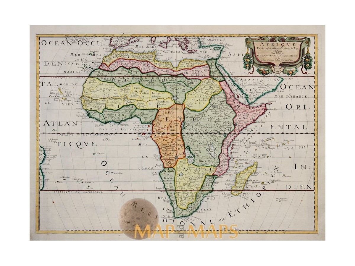 Afrique Par N. Sanson Africa atlas map Sanson 1650 on map of ethiopia, map of benin, map of goa, map of martin luther, map of ghana, map of span, map of art, map of adobe, map of amer, map of asia, map of last, map of afr, map of amst, map of univ, map of soc, map of fren, map of history, map of nigeria, map of europe, map of namibia,