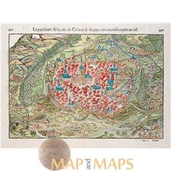 Colmar France - Die Statt Colmar - Sebastian Munster 1554