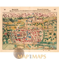 Rouffach France Rufach Cosmographia Sebastian Munster 1548
