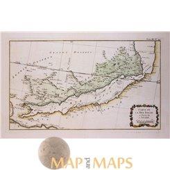 Red Sea antique map La Mer Rouge Bellin 1764