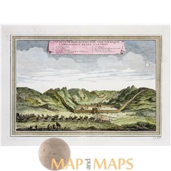 Great Wall print China, la Grande Muraille by Bellin 1754