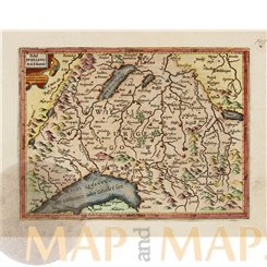 Wiflispurgergov Switzerland Mercator/Hondius Atlas Minor 1607