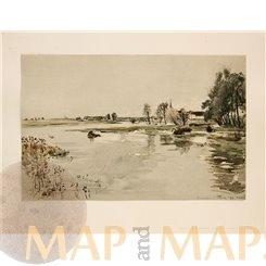 Flood at Pasing (Munich) Art Print Staatsdruckerei 1890