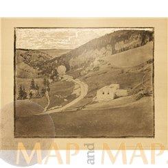 Landscape in gray, Art Print Otto Fischer 1901