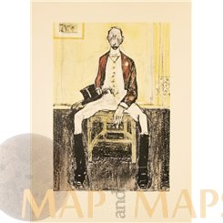 Caricature, Art Print Artist: Rudolf Wilke 1901