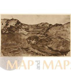 Landscape study Art Print Ludwig Schmidt Reutte 1902